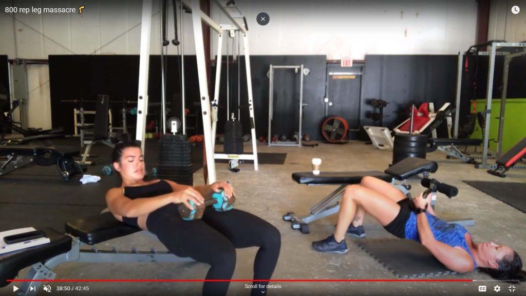 Leg Strength Training - 800 Leg Rep Massacre - By BCMF Total PHIT Gym