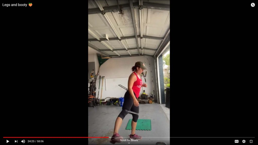 Legs and Booty Workout Video